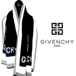 Givenchy Wool/Cashere Scarf/Wrap! (W/ Receipt)